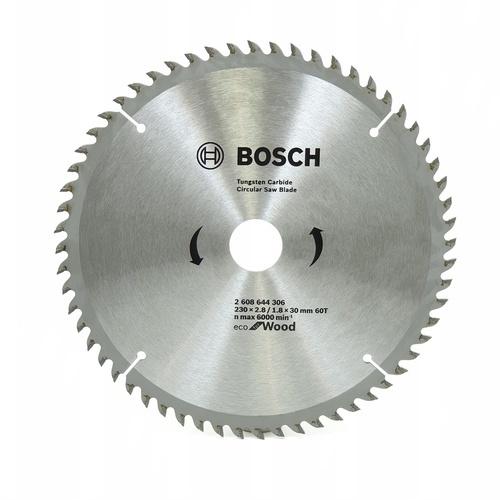 BOSCH ใบเลื่อยวงเดือนEcoตัดไม้ 9 1/4 60T   สีโครเมี่ยม