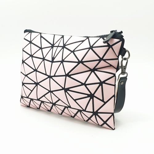 USUPSO กระเป๋าเครื่องสำอางค์ - สีชมพู