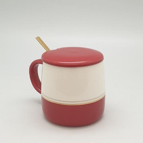 USUPSO USUPSO แก้วกาแฟเซรามิค 370ml (#BK5)  ขาว