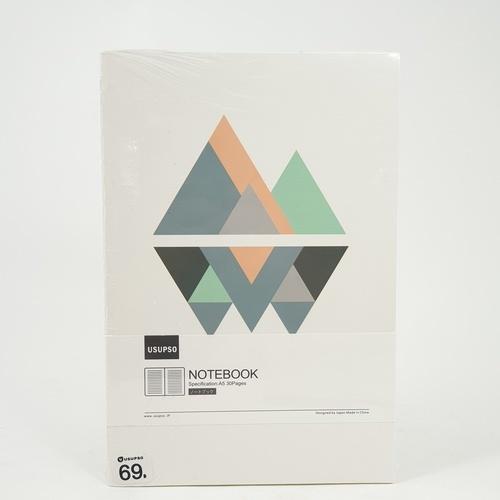 USUPSO สมุดโน๊ต Minimalist B5  - สีขาว