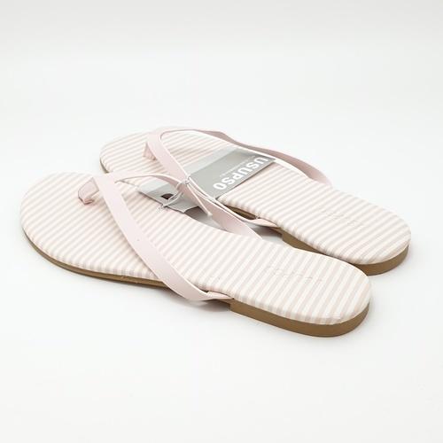 USUPSO รองเท้าแตะแฟชั่น  PU  (37) สีชมพู