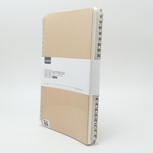 USUPSO  สมุดโน๊ตสันห่วง  A560 (#E) สีขาว