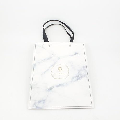 USUPSO USUPSO ถุงของขวัญ Marble - L (#C)  ขาว