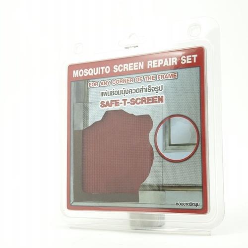 - แผ่นซ่อมมุ้งลวดสำเร็จรูป  (ซ่อมมุม) ขนาด 12*12 cm. (2ชิ้น/แพ็ค)  Cd3 สีชา