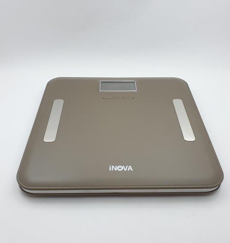 INOVA เครื่องชั่งน้ำหนักและวัดมวลไขมัน ดิจิตอล  EF751 GRY สีเทา