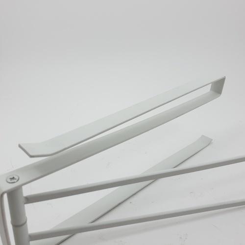 - ที่แขวนผ้าอเนกประสงค์ สีขาว 10x26.5x2 ซม.  QYTY009-WH สีขาว