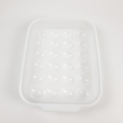 - กล่องเก็บไข่ 24 ฟอง ZWF075-GN ขนาด  27.3 x 37.2 x 7 cm  สีเขียว