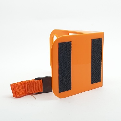Cover ที่คั่นท้ายรถ ขนาด 11.5x19x14ซม. BB007-ORANGE สีส้ม