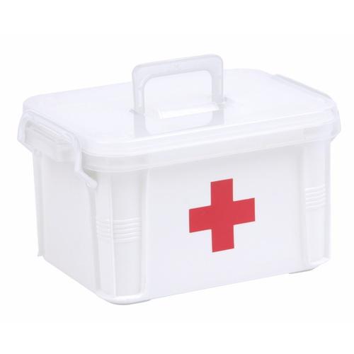 GOME กล่องปฐมพยาบาล (L) ขนาด 34x24x19 ซม. TG51120 สีขาว