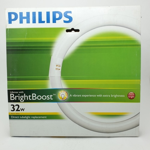 PHILIPS หลอดไฟนีออนกลม TLE 32W #830 วอร์มไวท์ สีขาว