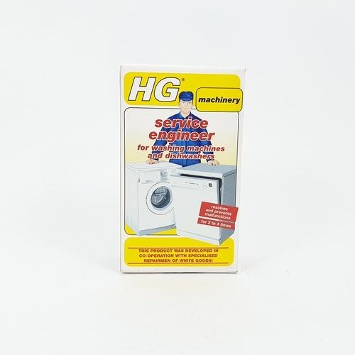 HG เซอร์วิส เอ็นจิเนียร์ (น้ำยาทำความสะอาดเครื่องซักผ้าเครื่องล้างจาน)  200g.