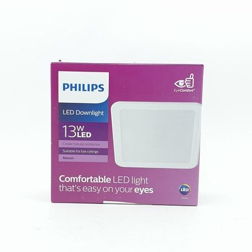 PHILIPS โคมดาวน์ไลท์แอลอีดี 59465 เมสัน 5 นิ้ว 13W แสงเหลือง  แบบเหลี่ยม 59465 MESON 125 13W 30K WH SQ RECESSED สีขาว