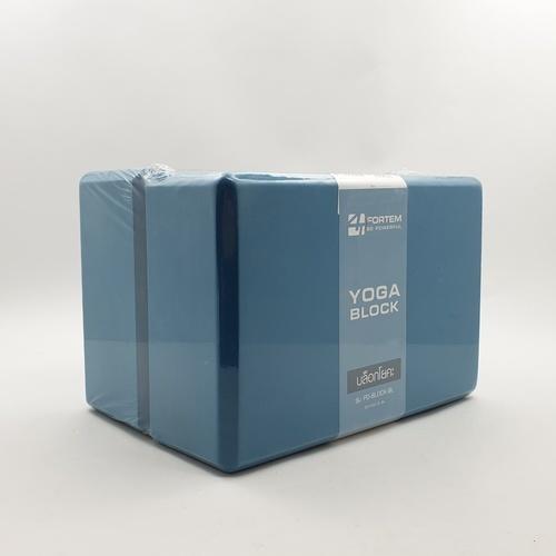 FORTEM บล็อกโยคะ ขนาด 22x15x7.6ซม PD-BLOCK-BL  สีฟ้า