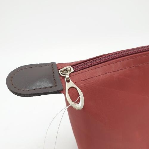 WETZLARS กระเป๋าจัดเก็บเครื่องสำอาง  ขนาด 20 x 7 x 10 cm  ZRH-004-RB  สีแดงเข้ม