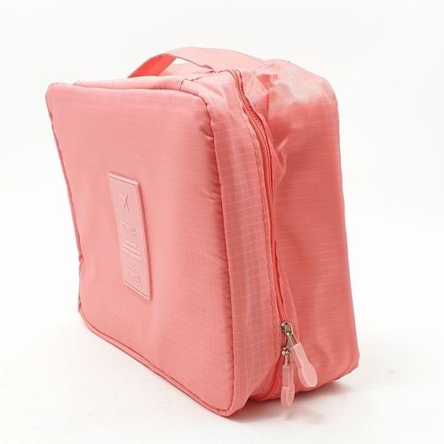 WETZLARS กระเป๋าจัดเก็บเครื่องสำอาง  ขนาด 21x17x7 cm  ZRH-014-PK  สีชมพู