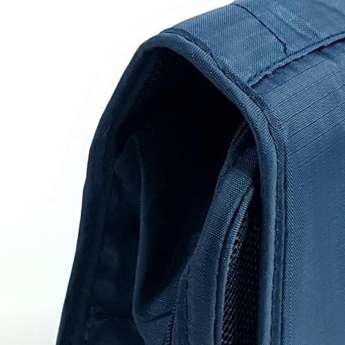 WETZLARS กระเป๋าจัดเก็บอุปกรณ์อาบน้ำ ขนาด 25x10x20 cm ZRH-016-DB  สีน้ำเงินเข้ม