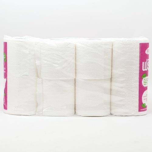 Belle กระดาษทิชชู่ 6 ม้วนแถม 2 สีขาว
