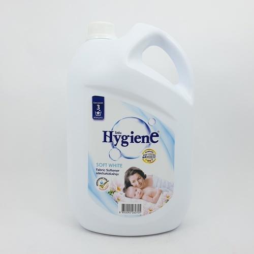 Hygiene  น้ำยาปรับผ้านุ่ม  3500 มล. (1x4) - สีขาว