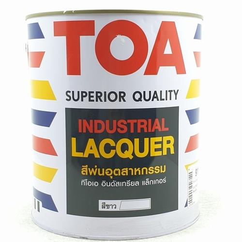 TOA สีพ่นอุตสาหกรรมเงาด้าน ขนาด 1 กล.  0911