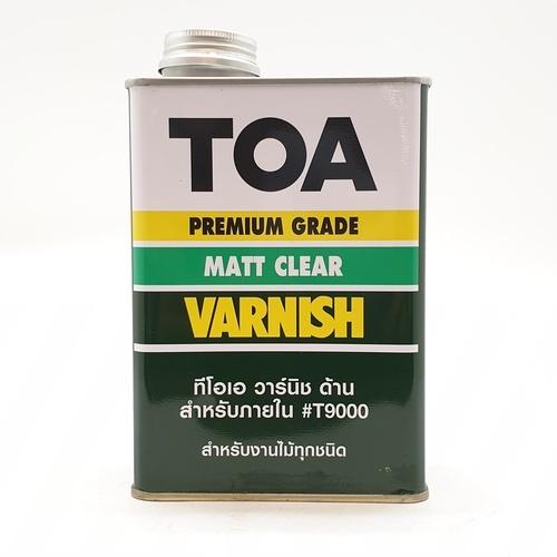 TOA น้ำมันวาร์นิชด้าน 1 กป. T9000