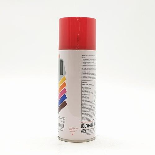 TOA สีสเปรย์เอนกประสงค์ขนาด 400cc. WIN-211 สีแดง