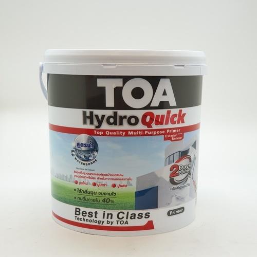 TOA ไฮโดรควิก สีรองพื้นอเนกประสงค์ สูตรน้ำ 3.785 ลิตร   #1000