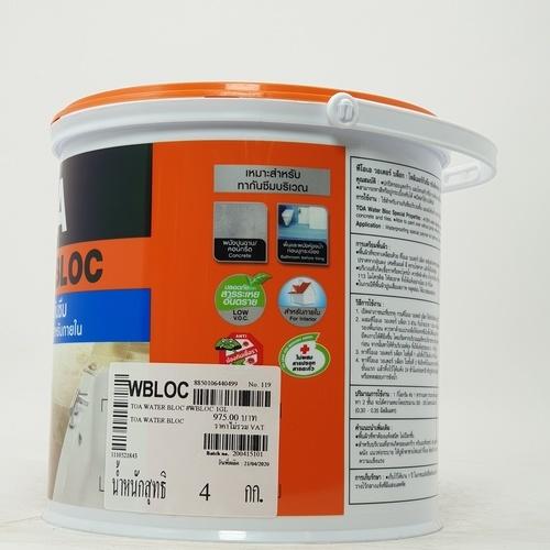 TOA น้ำยากันน้ำรั่วซึม 1 ก.ล. F101776105WBLOC ใส