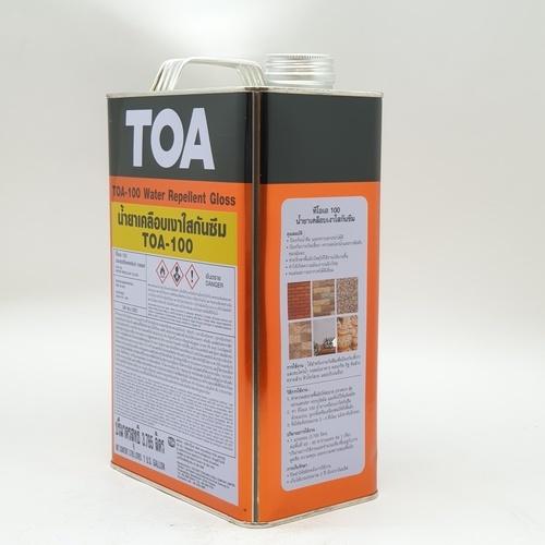 TOA  ทีโอเอ 100 น้ำยาเคลือบเงาใสกันซึม 1 กล  GLOSS F102866105GLOSS  GLOSS
