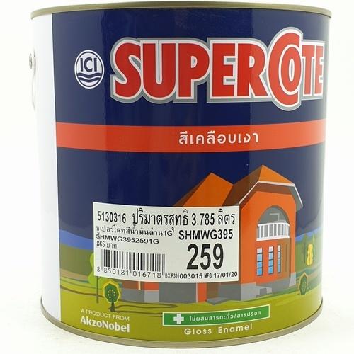 Dulux สีน้ำมัน S/C 259 กล.ขาวด้าน Super cote