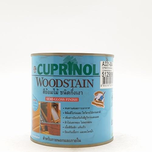 Dulux คิวปรีโนล-ไม้แดง  004 1/4กล. CP WOODSTAIN