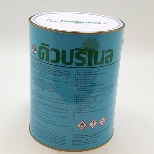 Dulux  สีย้อมไม้ คิวปรีโนลกึ่งเงา สีไม้สัก  001 1G