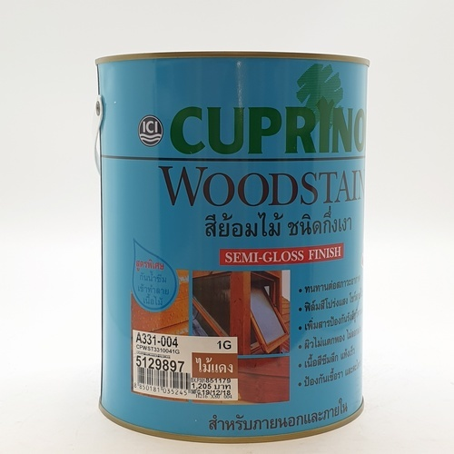 Dulux สีย้อมไม้คิวปรีโนลกึ่งเงา-ไม้แดง 004 1กล. Cuprinol