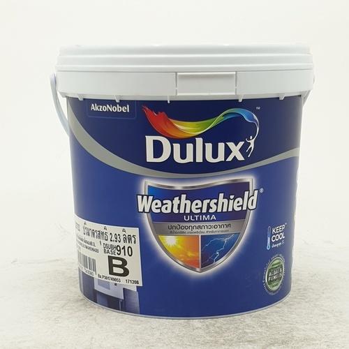 Dulux สีน้ำทาภายนอก Weathershield Ultima (Sheen) ขาว