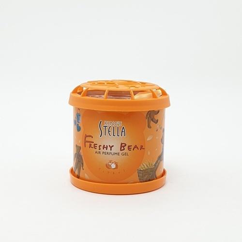 -  Kings Stella เจลเฟรชชี่ แบร์ 80g.  ซีตรัส สีส้ม