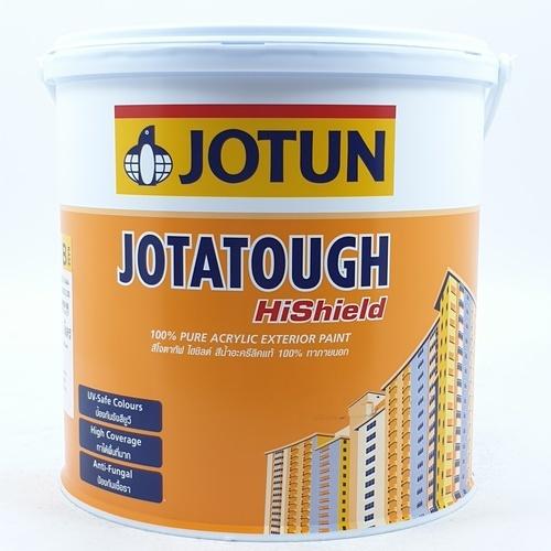 JOTUN สีทาภายนอก เบสบี ขนาด 3.6 ลิตร JOTATOUGH HISHIELD SG ขาว