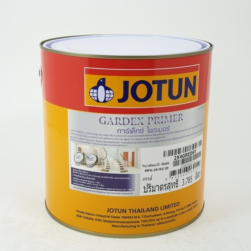 JOTUN การ์เด็กซ์ไพรเมอร์เกรย์ 3.7ลิตร GARDEX PRIMER    GREY เทา