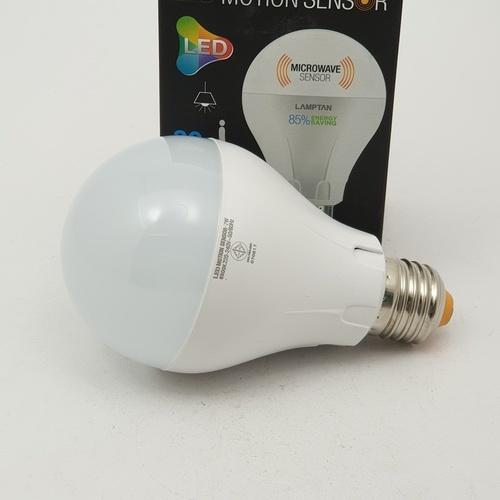 LAMPTAN หลอด LED  7w แสงเดย์ไลท์ Motion sensor Microwave