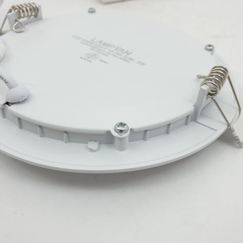 LAMPTAN โคมไฟแอลอีดีดาวน์ไลท์ อัลตร้าสลิม9 วัตต์ วอร์มไวท์ LED   DOWNLIGHT