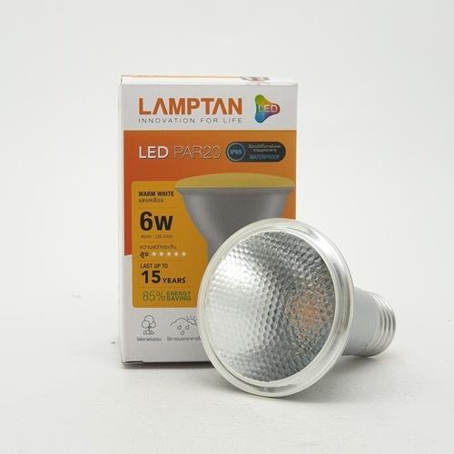 LAMPTAN หลอด LED 6W  PAR20 สีขาว