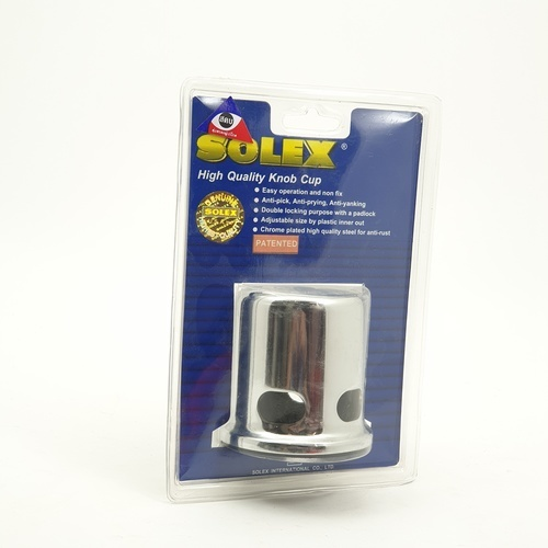 SOLEX 4 small knob cover without key Small 4 holes without keys สีทอง
