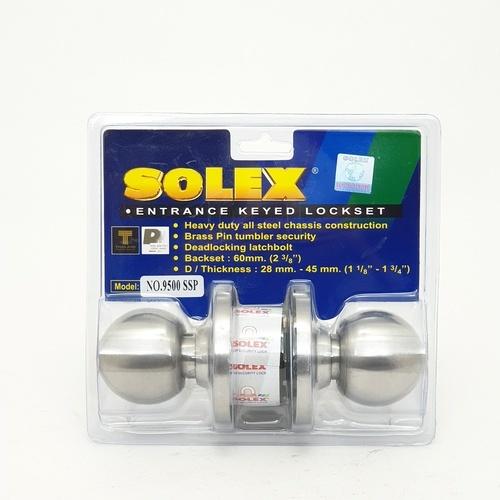 SOLEX กุญแจลูกบิด 9500 SSP  สเตนเลส
