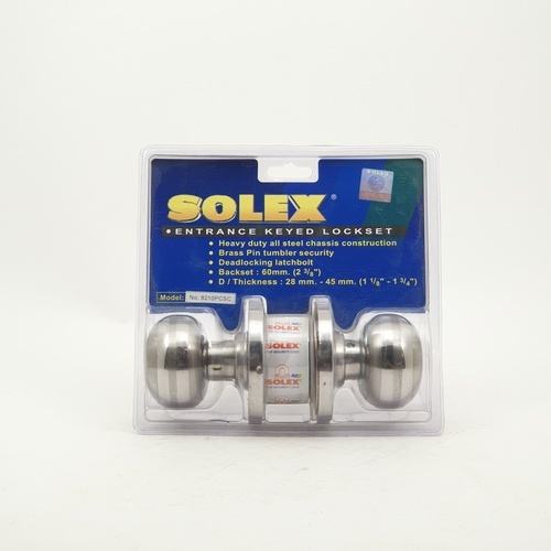 SOLEX ลูกบิด (แผง) 9210 PCSC สีขาว