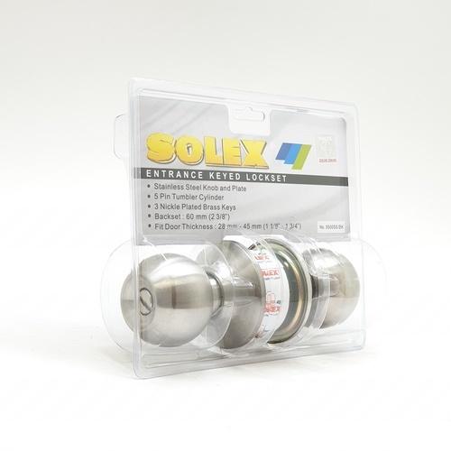 SOLEX ลูกบิด (แผง) 5500 SS/BK  สีขาว