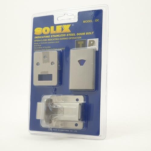 SOLEX กลอนสแตนเลสห้องน้ำ OC