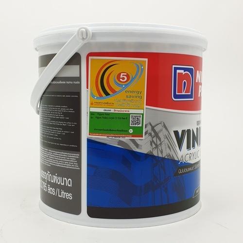 NIPPON สีน้ำอเนกประสงค์ ภายนอก เบส บี Vinilex Acrylic ขาว