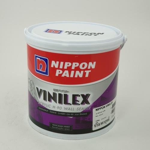 NIPPON สีรองพื้นปูนใหม่  Vinilex Acrylic H-90 ขาว