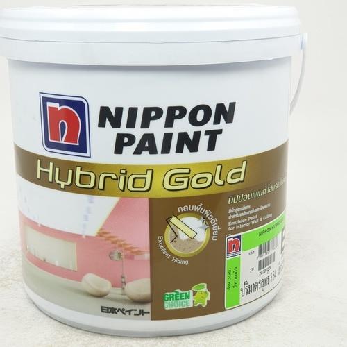 NIPPON สีภายใน  B 1กล. Hybrid Gold ขาว