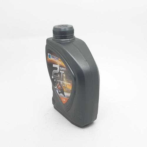 bangchak น้ำมันหล่อลื่นสำหรับเครื่องยนต์เบนซิน 2 จังหวะ ผสมสารสังเคราะห์  Super 2T TC/TISI (12/1) สีแดง
