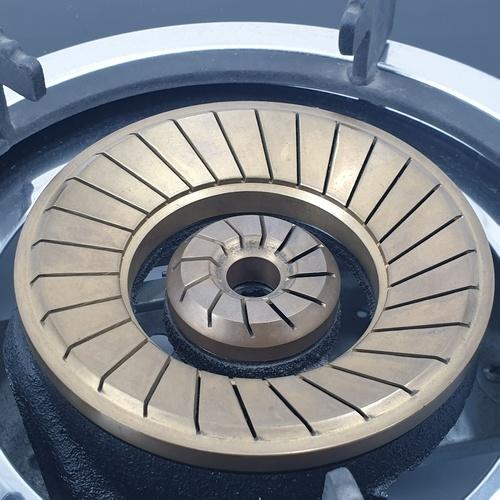 TECNOGAS เตาแก๊สตั้งโต๊ะ 2 หัวแก๊ส TNS  G 2710 GB สีดำ
