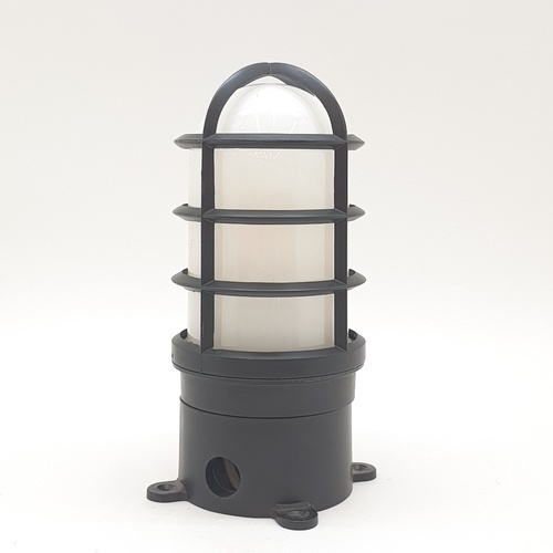 The Sun โคมไฟหัวเสากรงนกเล็ก  P06-B สีดำ